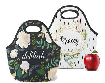 personalized lunch boxes for adults monogrammed lunchbox monogrammed lunch  bags insulated neoprene monogrammed lunch bag personalized