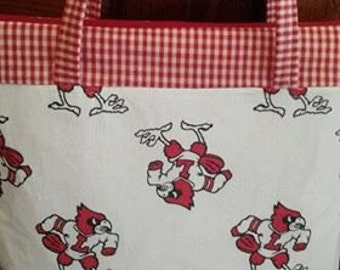 Louisville Cardinal purse