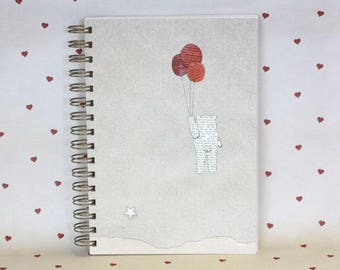 fat notebook - bear travel