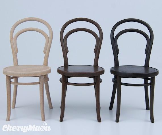 chaise thonet 14 chelle 1 6 miniature dollhouse diorama. Black Bedroom Furniture Sets. Home Design Ideas