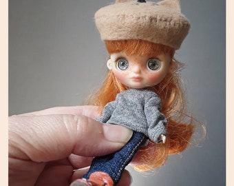 Petite Blythe doll custom ooak