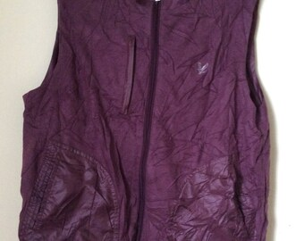 Rare! Lyle & Scott collection Vest Jacket Both Side Use