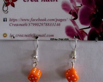 earring of orange