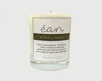 Besten Soja-Kerzen, schwarzer Tee und Tabak Kerze, Mini Kerzebevorzugungen, Frühjahr Kerzen, Artisan Kerze, Aromatherapie, Kerzebevorzugungen
