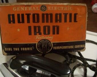Vintage Ge Automatic Iron