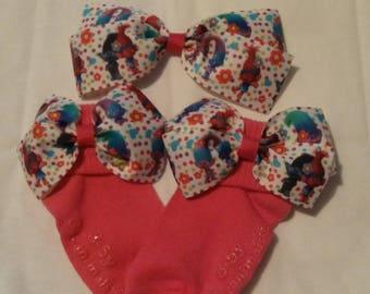 Hair bow and socks set
