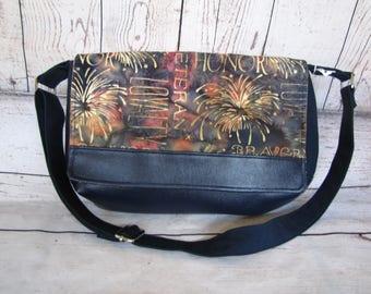 Dark Blue mini Messenger bag
