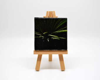 Abstract 8 - Mini Canvas w/ Easel