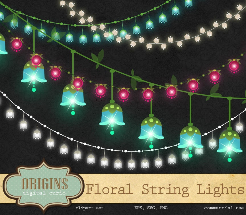 zoom - Valentine String Lights