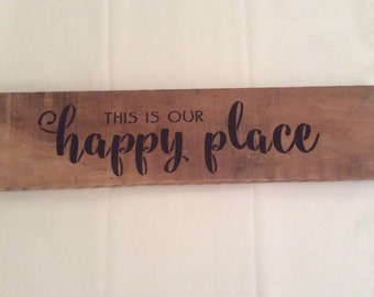 "24.5""x6""X1"" Barn Wood Sign"