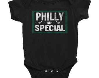 Eagles onesie etsy more colors philly special baby negle Gallery