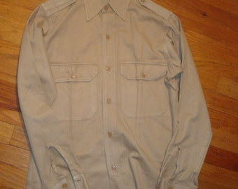 WWII Era Officers Khaki shirt
