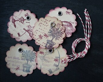 tags, 5pieces