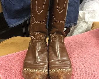Tony Lama Size 6 Brown leather Boots