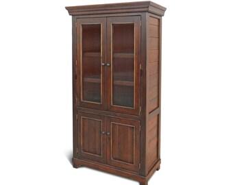 Bookcase, Bookshelves, Display Cabinet, Reclaimed Wood, Bookshelves, Rustic