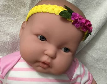 Yellow Sunny Unique Baby Headband