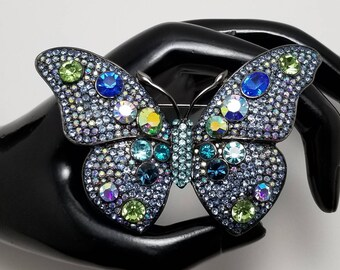 CAROLEE Colorful Butterfly Brooch