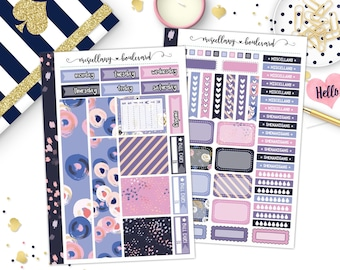 Dusky Blooms 2-Page Mini Kit | MK-005 MINI BINDER