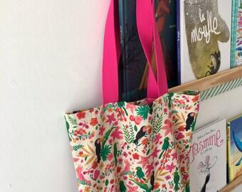 Bag tote bag tropical accessory