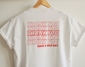 Thank You T-Shirt (2 sides)