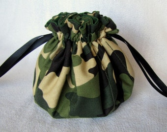 Jewelry Bag - Medium Size - Traveling Jewelry Tote - Drawstring Pouch - THE PATRIOT