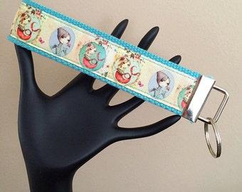Wrist Strap Key Fob/Mermaid