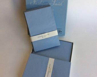 Vintage Stationary Set,  Fashion Laid Bond, Frederick & Nelson