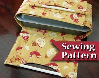 Casserole carrier pattern   PDF Tutorial   Casserole dish pattern   Instant download   Casserole carrier to sew   DIY sewing pattern