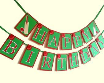 Cricket Banner, Cricket Birthday Banner, Cricket Birthday Decorations, Cricket Party Decorations, Cricket Garland, Cricket Sign, Bunting