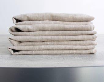 Cloth napkins Linen napkins Dinner napkins Wedding Napkins  Linen napkins set, Organic napkins Natural linen napkins, Linen wedding table
