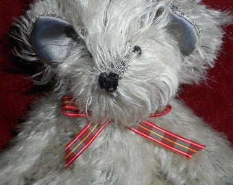 Mohair Teddy Bear, Handcrafted