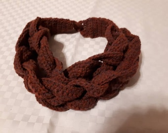 Braided Cowl Crochet
