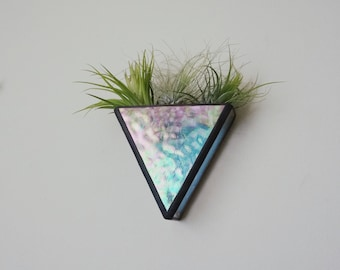 3D Triangle stained glass