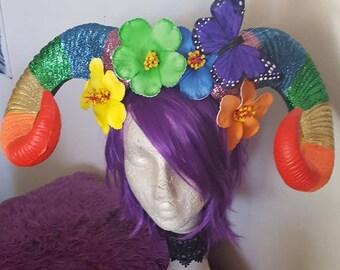 Gay pride, Pride horns,Horns, LGBTQ, Pride parade, Parade Horns, Gay, Lesbian, Transgender, Rainbow, Rainbow horns