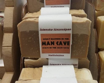 Man Cave - Icelandic Luxury Vegan Handmade Soap - Drakkar fragrance