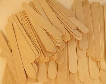 "50 ct Jumbo Popsicle Sticks / Craft Sticks / Tongue Depressors 6"" x 11/16"""