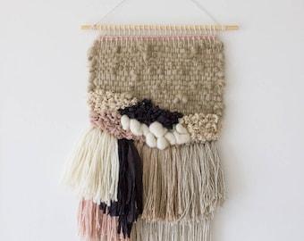 Woven wall hanging | Woven wall art | Tapestry wall hanging | Weaving wall hanging | Boho style wall tapestry | Boho wall decor | Fiber art