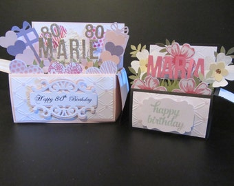 Ex Large Handmade 3D card in a box