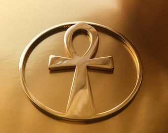 Ankh Key Gold 24K Plated Tool