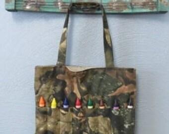 Camo Crayon Bag