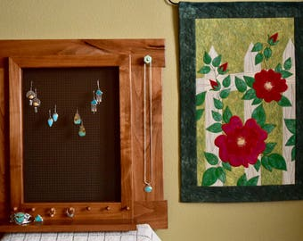 Jewelry Display // Earring Display // Jewelry Organizer // Jewelry Display Rack Wall // Jewelry Hanger // Earring Hanger