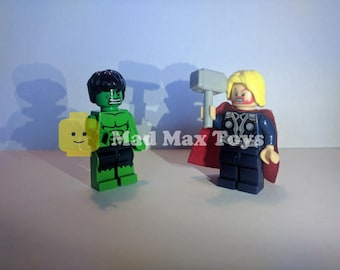 The Smash Pack: Hulk and Thor Lego Compatible Minifigures