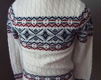 Vintage Mens Long Sleeve Sweater by Lord Jeff