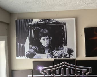 "Scarface canvas print 20""x30"""