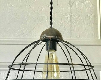 Basket Cage Pendant