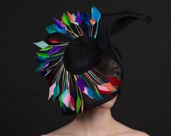 Colour burst- Ascot/ladies dat hat
