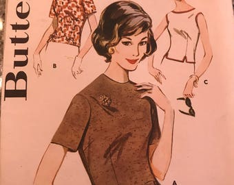 Very Cute Vintage Shell Pattern---Butterick 2545---Size 16  Bust 36