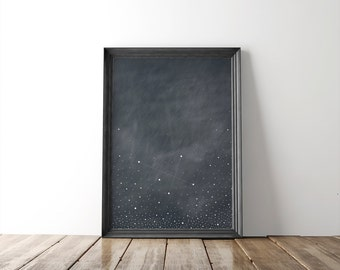 Southern Cross Constellation 8x10 Fine Art Print // wall art // wall decor // astronomy print // home goods // home decor //minimalist decor