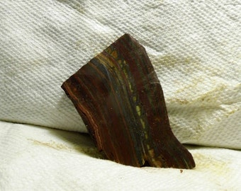 Slab Cab Lapidary Slabs Tiger Iron Agate #01