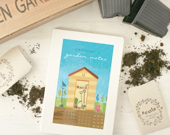Personalised Gardening Notebook (4 designs available)